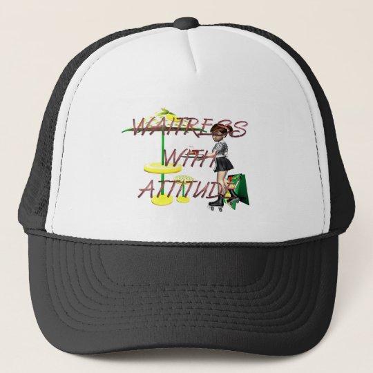 TEE Waitress with Attitude Trucker Hat