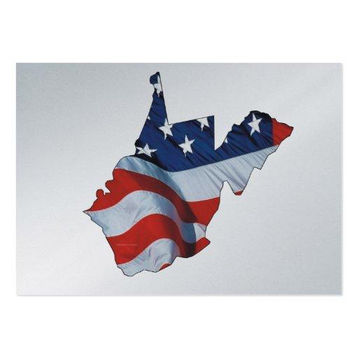 TEE West Virginia Patriot Business Cards