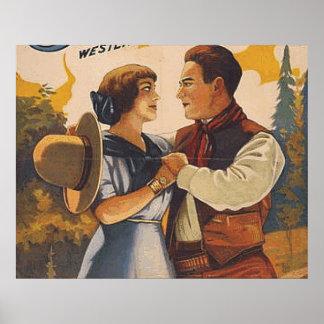 TEE Western Love Poster