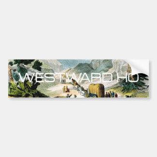 TEE Westward Ho Bumper Sticker