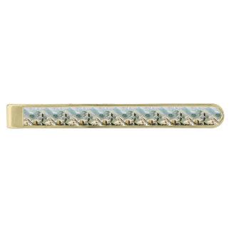TEE Westward Ho Gold Finish Tie Clip