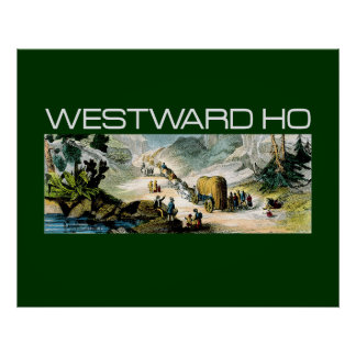 TEE Westward Ho Poster