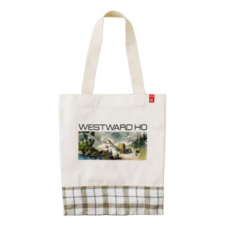 TEE Westward Ho Zazzle HEART Tote Bag
