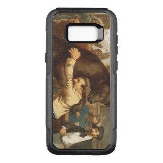 TEE Wild West Wrestling OtterBox Commuter Samsung Galaxy S8+ Case