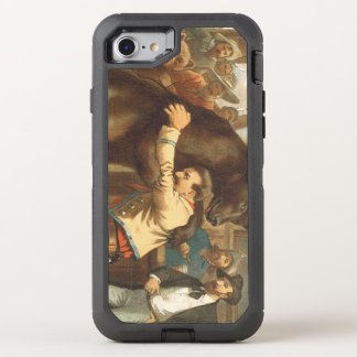 TEE Wild West Wrestling OtterBox Defender iPhone 8/7 Case