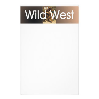 TEE Wild West Wrestling Stationery