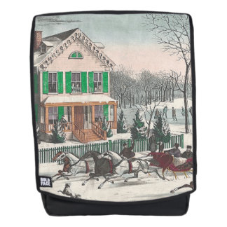 TEE Winter Poetry Backpack
