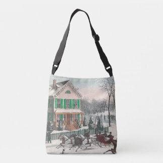 TEE Winter Poetry Crossbody Bag