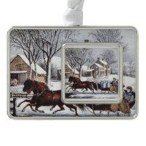TEE Winter Ride Christmas Ornament