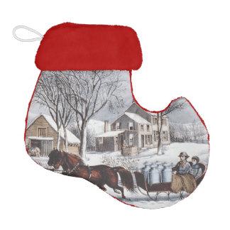 TEE Winter Ride Elf Christmas Stocking