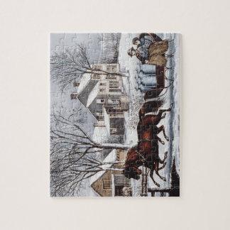 TEE Winter Ride Jigsaw Puzzle
