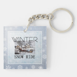 TEE Winter Ride Keychain