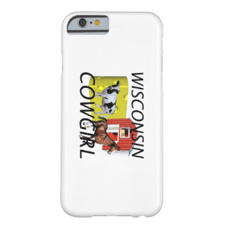 TEE Wisconsin Cowgirl Barely There iPhone 6 Case