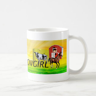 TEE Wisconsin Cowgirl Coffee Mug