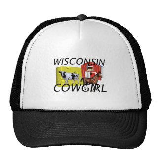 TEE Wisconsin Cowgirl Trucker Hat