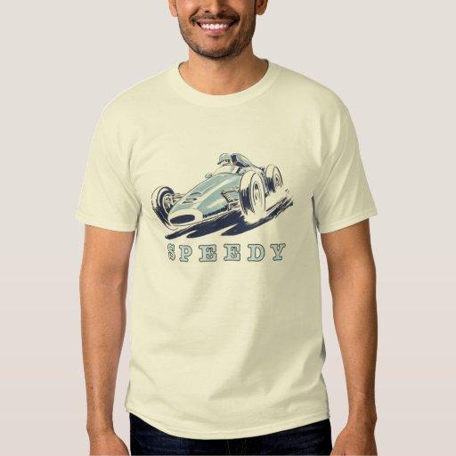 Tee with Cool Vintage Racing Car