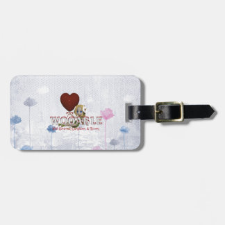 TEE Wooable Love Luggage Tag