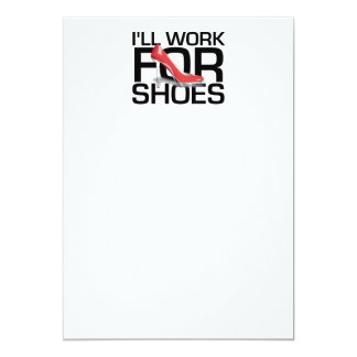 TEE Work for Shoes Card