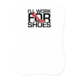 TEE Work for Shoes Cards