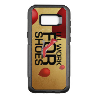 TEE Work for Shoes OtterBox Commuter Samsung Galaxy S8+ Case