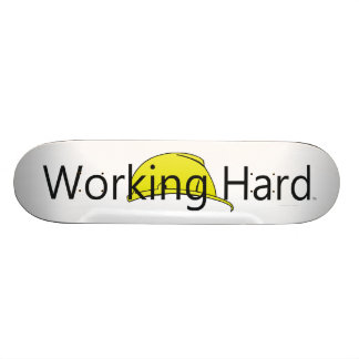TEE Working Hard Skateboard Deck
