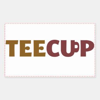 TeeCup sticker