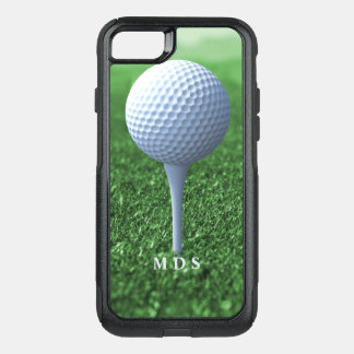 Teeing Off Golfer's OtterBox OtterBox Commuter iPhone 8/7 Case