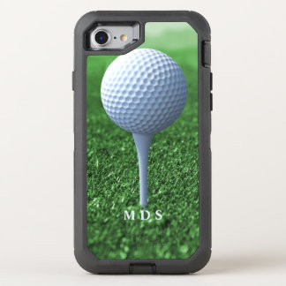 Teeing Off Golfer's OtterBox OtterBox Defender iPhone 7 Case