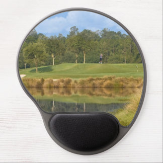 Teeing Off on the Golf Course Gel Mouse Mat