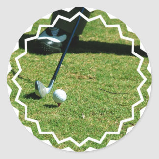 Teeing Off Stickers