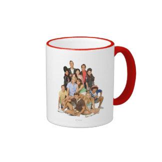 Teen Beach Group Shot 2 Ringer Coffee Mug