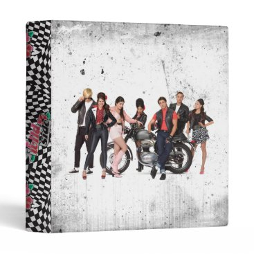 Beach Themed Teen Beach Group Shot 3 Binder