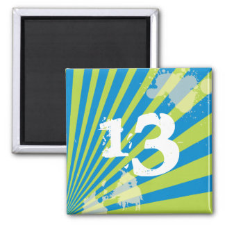 Teen Birthday Party Favor      Magnet