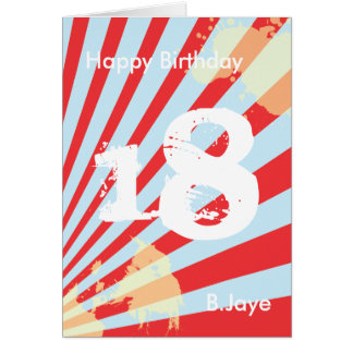 Teen Birthday Party Invite/Thank you | Card Card