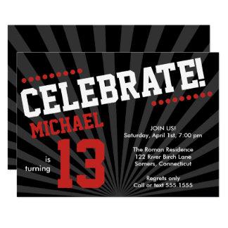 teenage birthday invitations