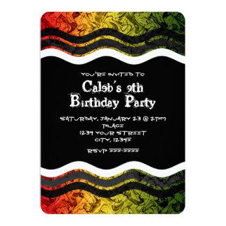 Teen Boy Birthday Invitations Amp Announcements Zazzle