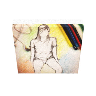 Teen Canvas Print