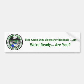 Teen CERT Bumper Sticker (St. Charles County, MO) Car Bumper Sticker