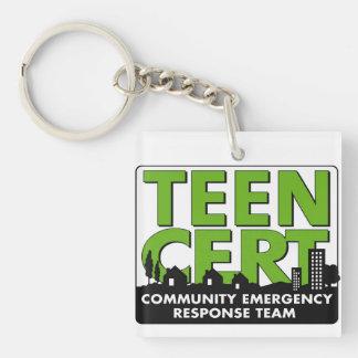 TEEN CERT (National Program) Keychain