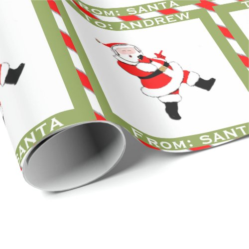 Teen Christmas Wrapping Paper