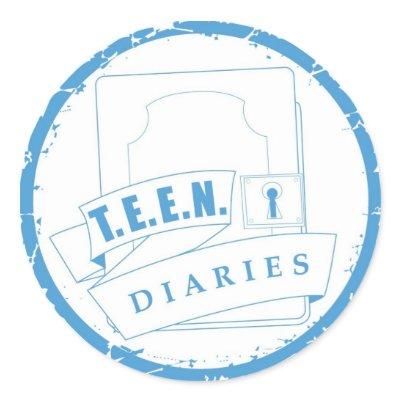TEEN Diaries Sticker by teendiaries. Decorate your notebook, laptop, ...