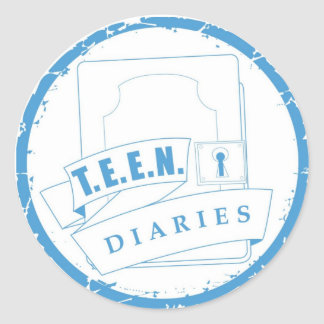TEEN Diaries Sticker