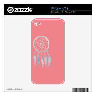 Teen Dreamcatcher Skin For The iPhone 4