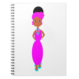 Teen Fashionista Spiral Notebook