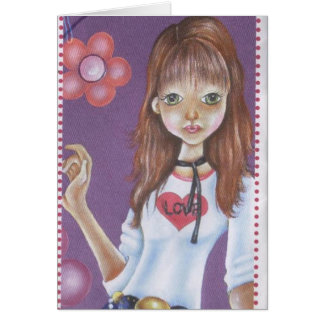 TEEN GIRL CARD