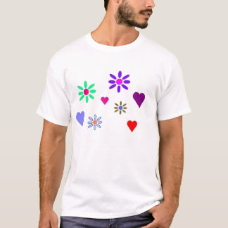 Teen Hearts & Flowers Sleeper T-Shirt