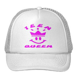 TEEN QUEEN CAP TRUCKER HAT