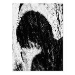 teen shadow postcard