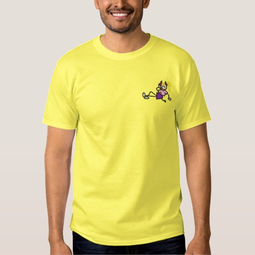 Teen She-devil Embroidered T-Shirt