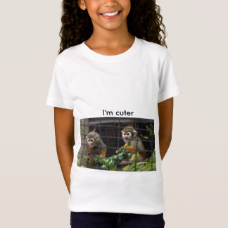 teen, tees, funny, cute, ape, chimp, cool T-Shirt
